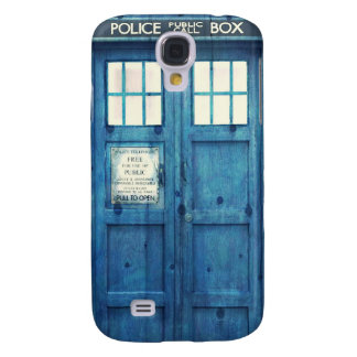 Vintage Police phone Public Call Box Samsung Galaxy S4 Case