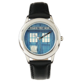 Vintage Police phone Public Call Box Watches