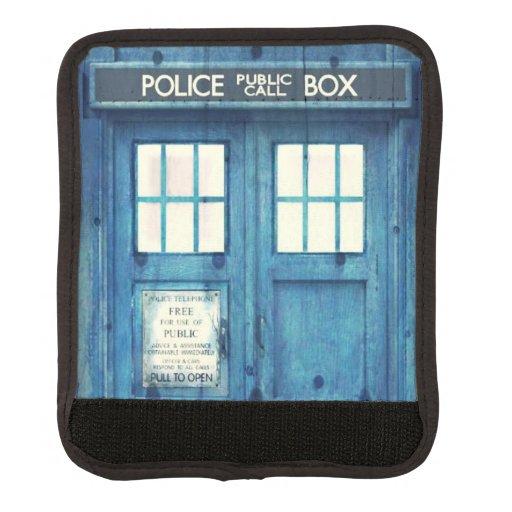 Vintage Police phone Public Call Box Handle Wrap