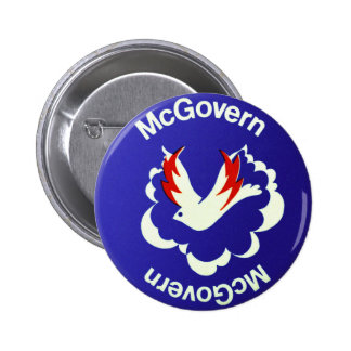 Vintage Politics McGovern For President Button