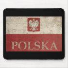 Vintage Polska Mouse Pad