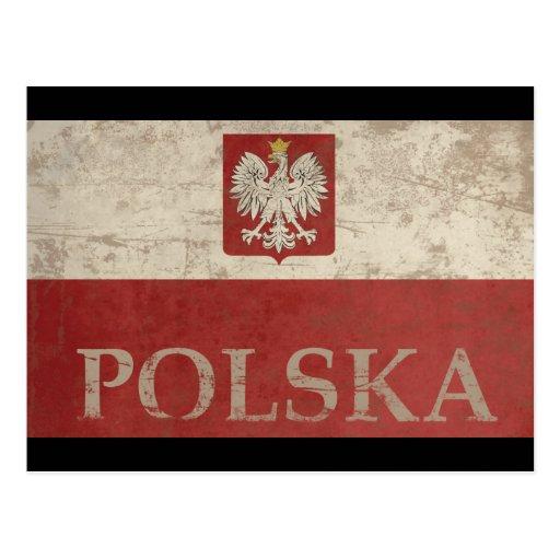 Vintage Polska Post Card