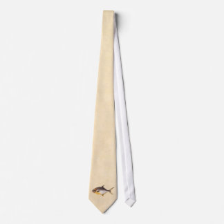 Vintage Pompano Fish - Game Fishes Template Blank Tie
