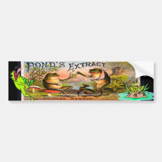 """Vintage Ponds Extract ad-Bumper Sticker!"" Bumper Sticker"