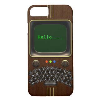 Vintage Portable Communication Device #1A iPhone 8/7 Case