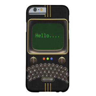 Vintage Portable Communication Device #1B Barely There iPhone 6 Case