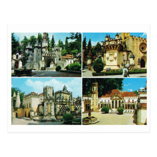 Vintage Portugal,  Coimbra, Multiview Postcard