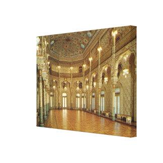 Vintage Portugal, Porto Arab Hall, Stock Exchange Canvas Print