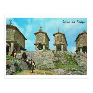 Vintage Portugal,  Serra do Soaja, cemetery, Post Cards
