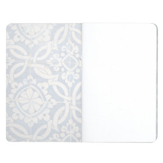 Vintage portuguese azulejo journal