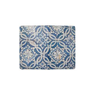 Vintage portuguese azulejo pocket moleskine notebook