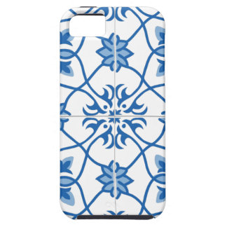Vintage Portuguese Azulejo Tile Pattern iPhone 5 Cover