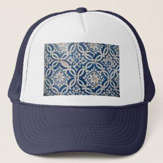 Vintage portuguese azulejo trucker hat