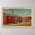 Vintage Post Office, Makepeace Bldg., Wareham, MA