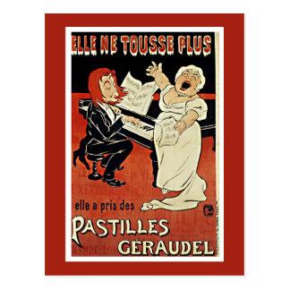 Vintage Postcard: Art Nouveau - Pastilles Geraudel Postcard