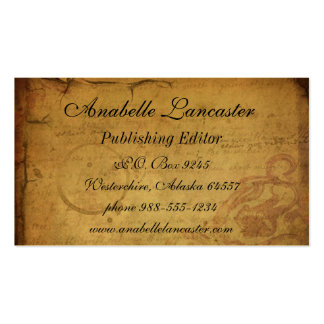 Vintage Postcard Business Card