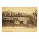 Vintage Postcard, Florence, Italy Card