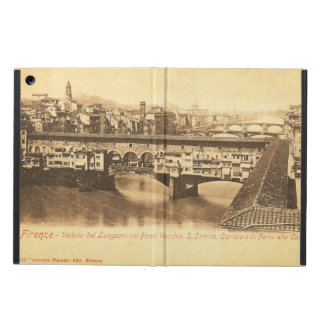 Vintage Postcard, Florence, Italy iPad Air Covers