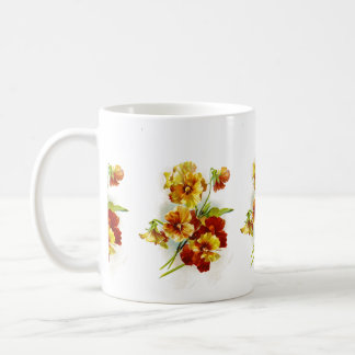 Vintage Postcard of Daffodils Coffee Mug
