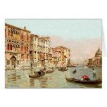 Vintage Postcard Palazzo Franchetti Venezia Venice Stationery Note Card
