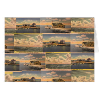 "Vintage Postcards ""Kelley's Island"" Greeting Card"
