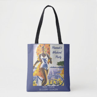 Vintage Poster - Bride's Bachelorette Weekend Tote Bag