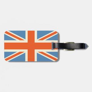 Vintage Poster Classic Union Jack British(UK) Flag Luggage Tag