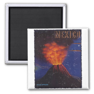 Vintage Poster - Mexico circa 1943 - distressed Magnet