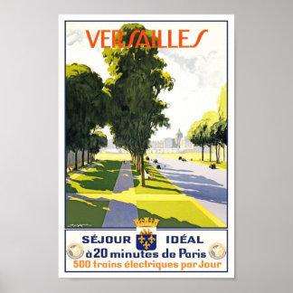 Vintage Poster Print Paris