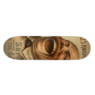 Vintage Poster: Snitz Over the Garden Wall 18.1 Cm Old School Skateboard Deck