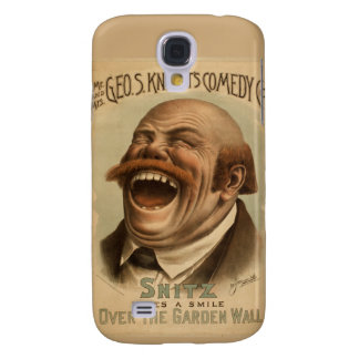 Vintage Poster: Snitz Over the Garden Wall Galaxy S4 Covers