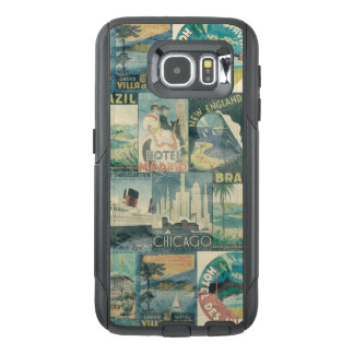 Vintage Poster Travel OtterBox Samsung Galaxy S6 Case