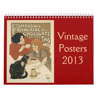 Vintage Posters 2013 Calendar