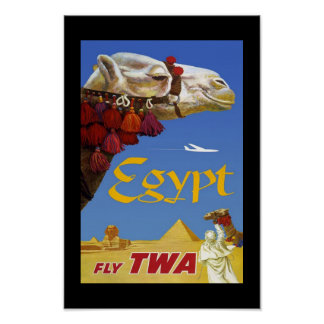 Vintage Posters Travel Egypt Print