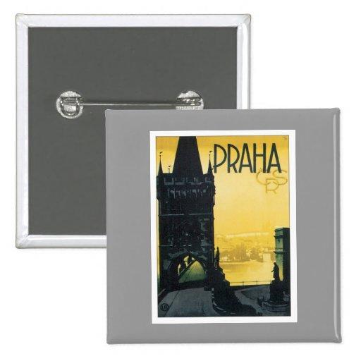 Vintage Praha Buttons