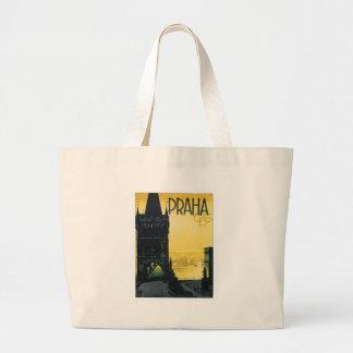 Vintage Praha Tote Bag