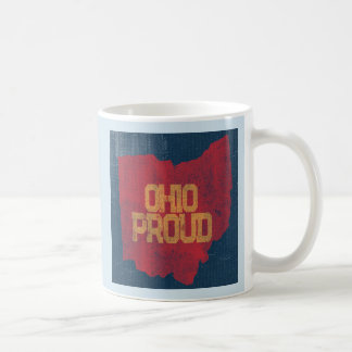 Vintage Press Ohio Proud Coffee Mug