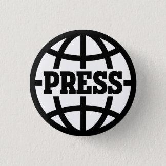 Vintage Press Pass Button