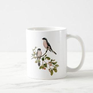 Vintage Pretty Birds on a Branch Coffee Mug