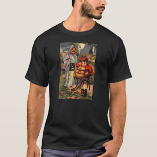 Vintage Print - Getting Ready For Halloween T-Shirt