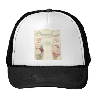 vintage printable carnations ephemera.jpg hats