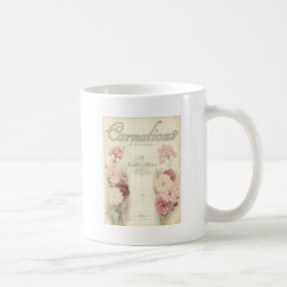 vintage printable carnations ephemera.jpg coffee mugs