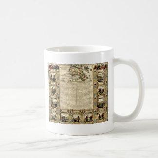 vintage printable - olde map.jpg coffee mugs