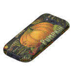 Vintage Product Label Art; Butterfly Brand Pumpkin Galaxy S3 Case