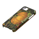 Vintage Product Label Art; Butterfly Brand Pumpkin iPhone 5 Cover