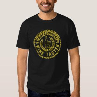 Vintage Professional Wine Taster T-shirts