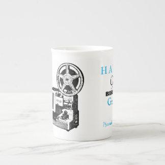 Vintage Projector personalized 90th Birthday Mug