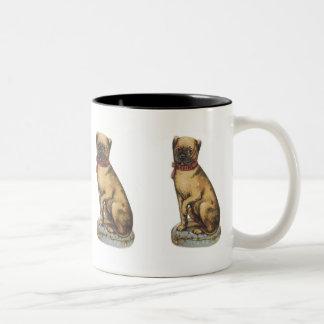 Vintage Pug Mug