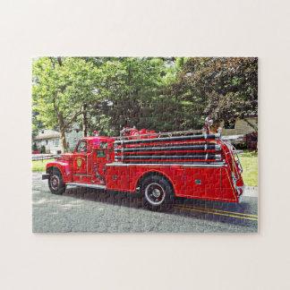 Vintage Pumper Fire Engine Jigsaw Puzzle