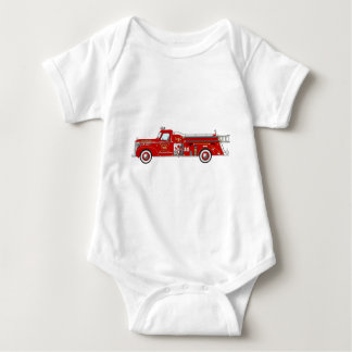Vintage Pumper Red Baby Bodysuit